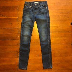 "Madewell 9"" Skinny Skinny Jeans"